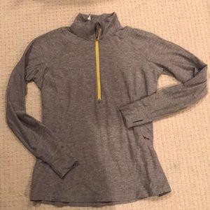 Lululemon Athletica sz 12 Large 3/4 zip pullover